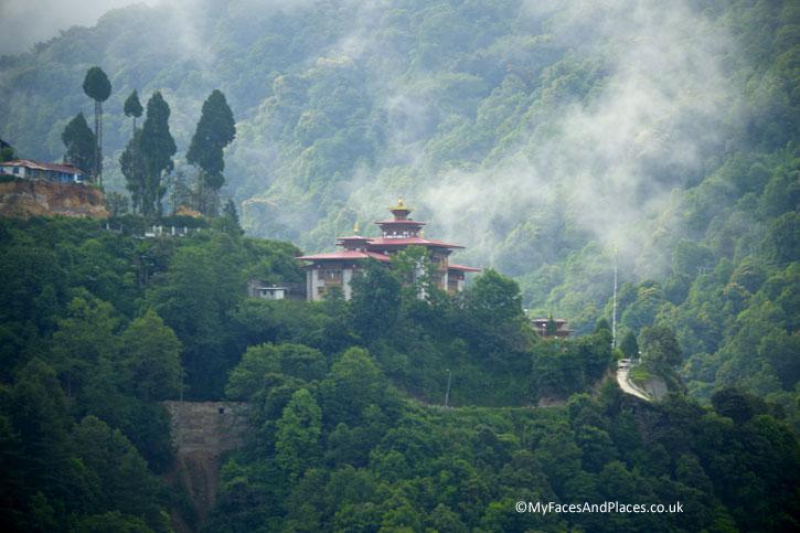 Trongsa lies in a mystical misty valley - Bhutan the Beautiful