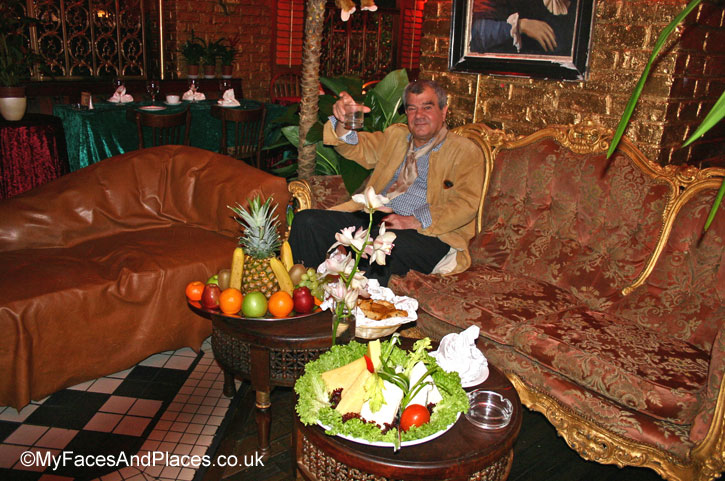 The late founder of Sarastro Richard Niazi , King Richard of Covent Garden