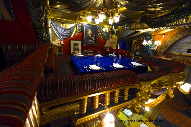 The Royal Box is the main balcony seat for small intimate group - Sarastro Restaurant