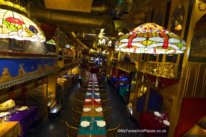 A perfect venue for special occasions for groups - sarastro restaurant