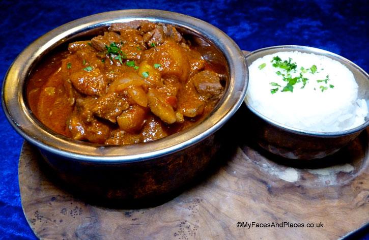 Mutancana a sumptuous sautéed beef stew - sarastro restaurant