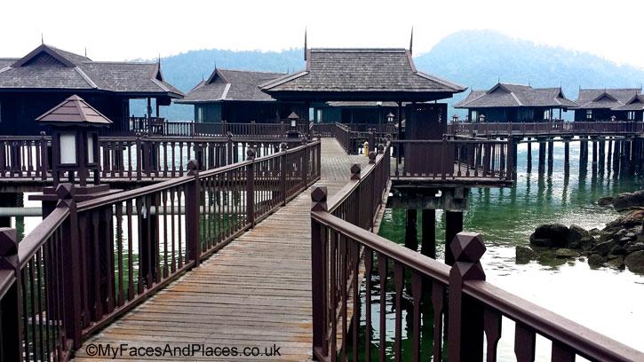 Chic Villas on stilts over the sea at Sea Villa