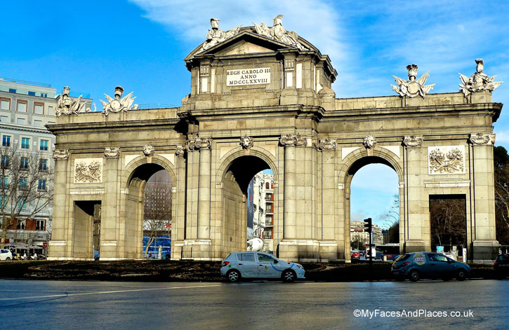 The Triumphal Arch of Puerta de Alcala