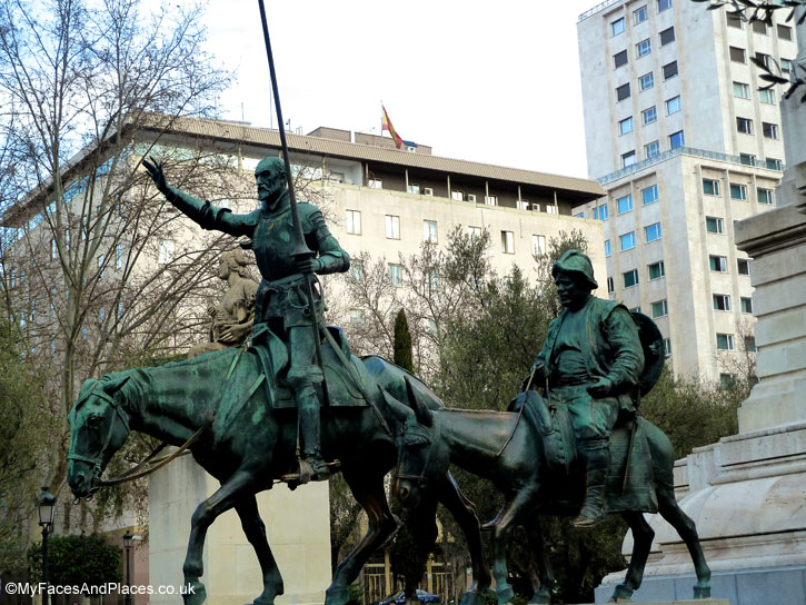 Don Quixote and his sidekick Sancho Panza