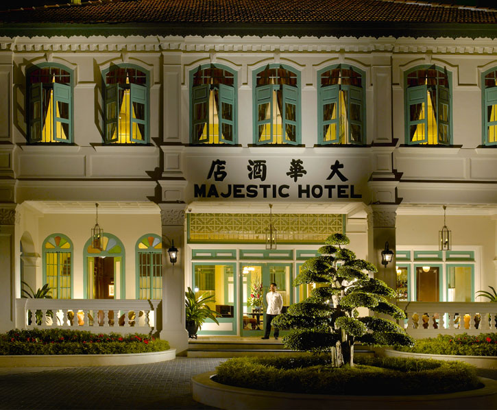 The stately Majestic Malacca set in a heritage mansion Photo credit: YTL Hotels
