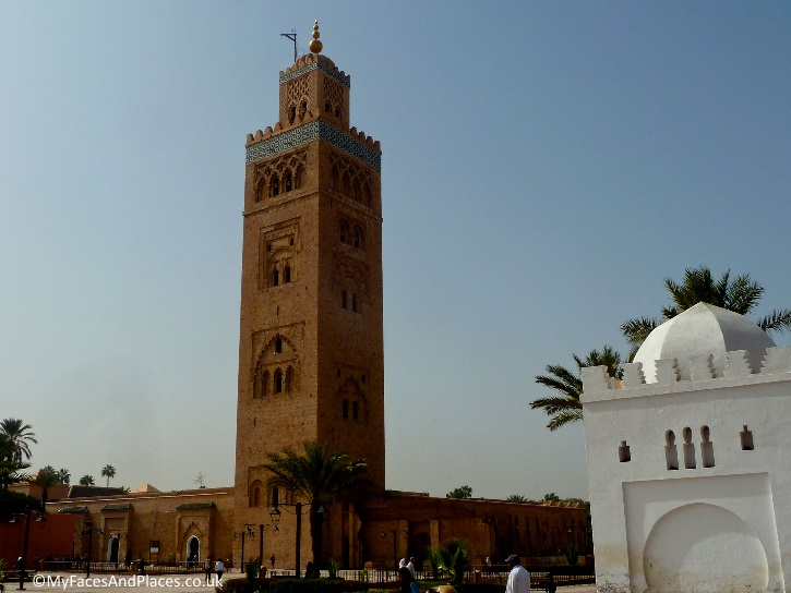 Koutoubia Mosque is the most famous icon in Marrakech