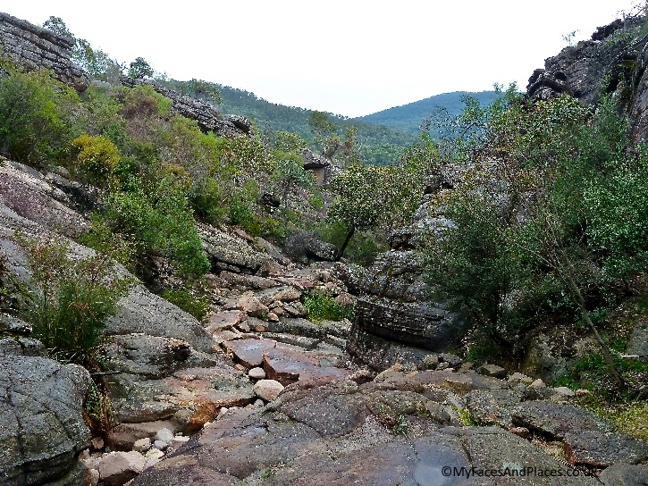 "Wild beauty at the little ""Grand Canyon"" at Grampian National Park"