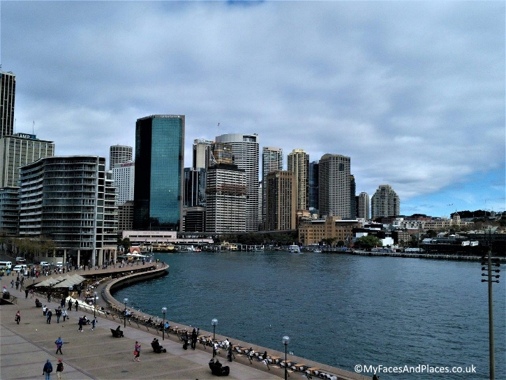 Sydney Stopover - Circular Quay at Sydney Harbour Bridge