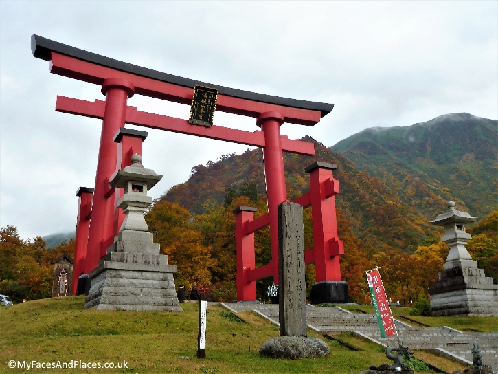 Torii is the gateway to all sacred places and temples in Japan