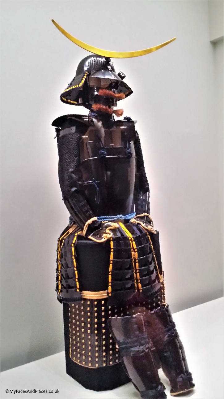 A replica of Date Masamune's suit of armour at the Sendai Museum