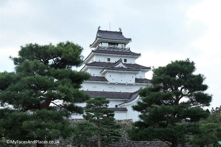 Tsuruga Castle also known as Aizu-wakamatsu Castle