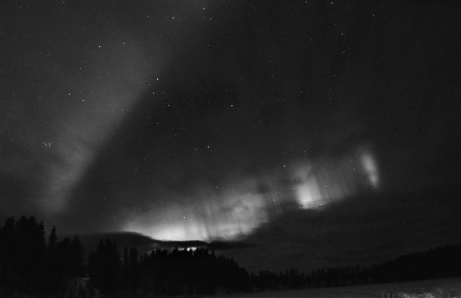 Northern Lights in Auktsjaur (2)