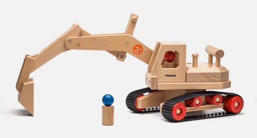 11. Holzbagger