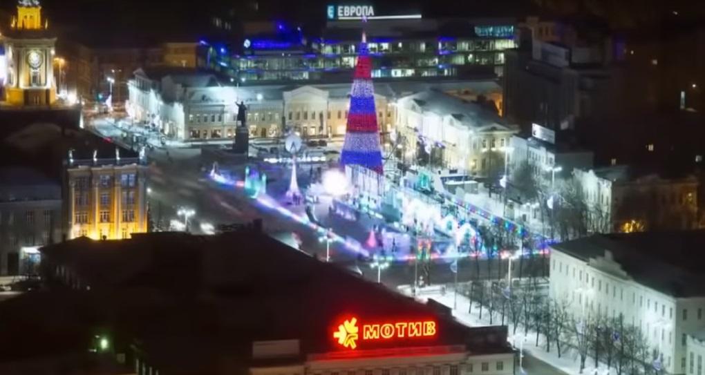 noviy god v Ekaterinburge