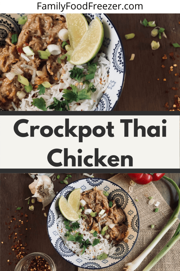 Easy Thai Chicken | Slow Cooker Thai Chicken | Instant Pot Thai | Slow Cooker Thai Chicken Thighs | spicy thjai chicken recipe | slow cooker thai chicken recipe | thai chicken thai recipe | healthy thai chicken recipes