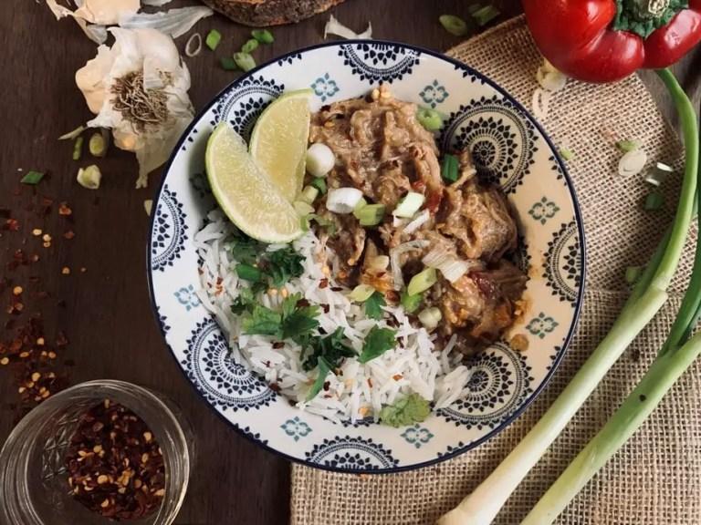 Easy Thai Chicken Freezer Meal