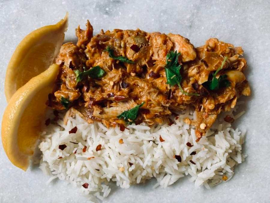 Slow Cooker Curry Chicken | Family Friendly Curry Chicken | Curry Chicken Recipe | Slow Cooker Chicken Recipe