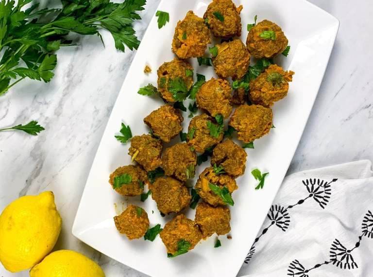 Yellow Curry Meatballs