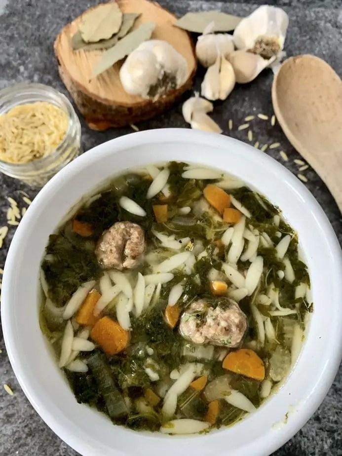 Instant pot Italian wedding soup | instant pot Italian soup | Italian wedding soup crock pot | instant pot soup | Italian wedding soup barley | grandmas Italian wedding soup | authentic Italian wedding soup recipe