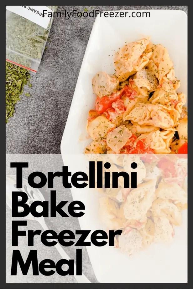 sausage tortellini bake | tortellini casserole | cheese tortellini with sausage and peppers | sausage tortellini skillet | Italian sausage tortellini soup | tortellini recipes | sausage tortellini
