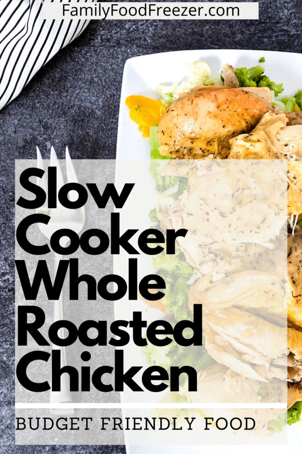 Slow cooker whole chicken and rice | slow cooker whole chicken and vegetables | slow cooker whole chicken lemon | slow cooker roast chicken with crispy skin | crockpot whole chicken and potatoes