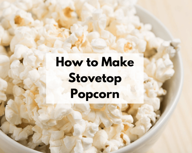How to Make Fluffy Stovetop Popcorn