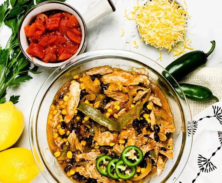Slow Cooker Tex Mex Chicken Freezer Meal