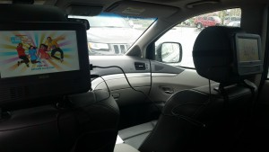 road trip tips dual monitors in the car