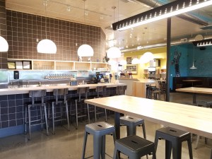 laughing planet cafe in vancouver washington interior photo