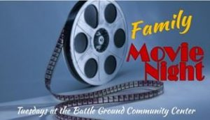family movie night battle ground community center