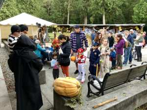 ridgefield art association halloween hall
