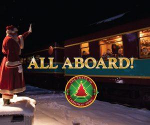 train to christmas town hood river oregon