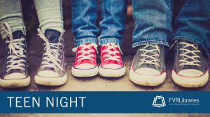 teen night in washougal