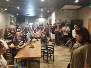 social hour at heathen brewing