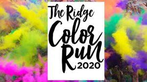 the ridge color run 2020