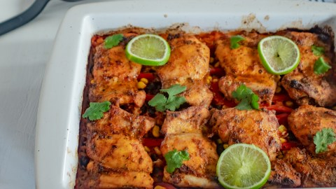 Mexican Chicken And Rice Tray Bake My Familys Food Diary