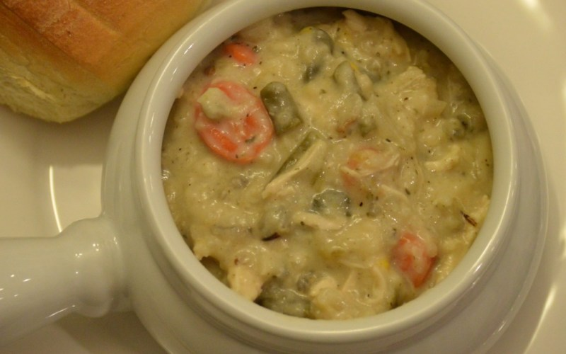 What's for Dinner?  Slowcooker Cream of Chicken Soup
