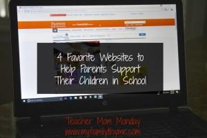 Four Favorite Websites for Parents