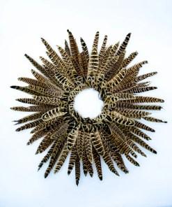 My Fancy Feathers Wreath