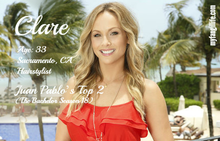 EDIT - Clare (Bachelor In Paradise)