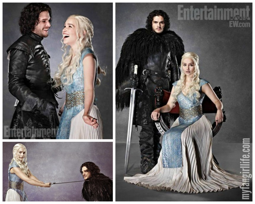 OTP - Jon + Dany (Game of Thrones)