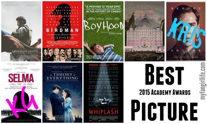 2015 Oscar Nominations Picks Best Picture