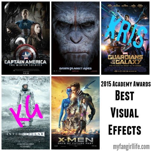 2015 Oscar Nominations Picks Best Visual Effects