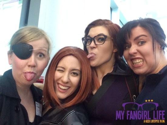 Marvel SHIELD Avengers Cosplay Selfie