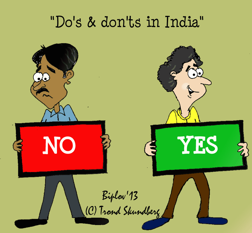 Do's and don'ts on business travel to India