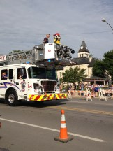 Parade Photo - Sparky the Fire Dog