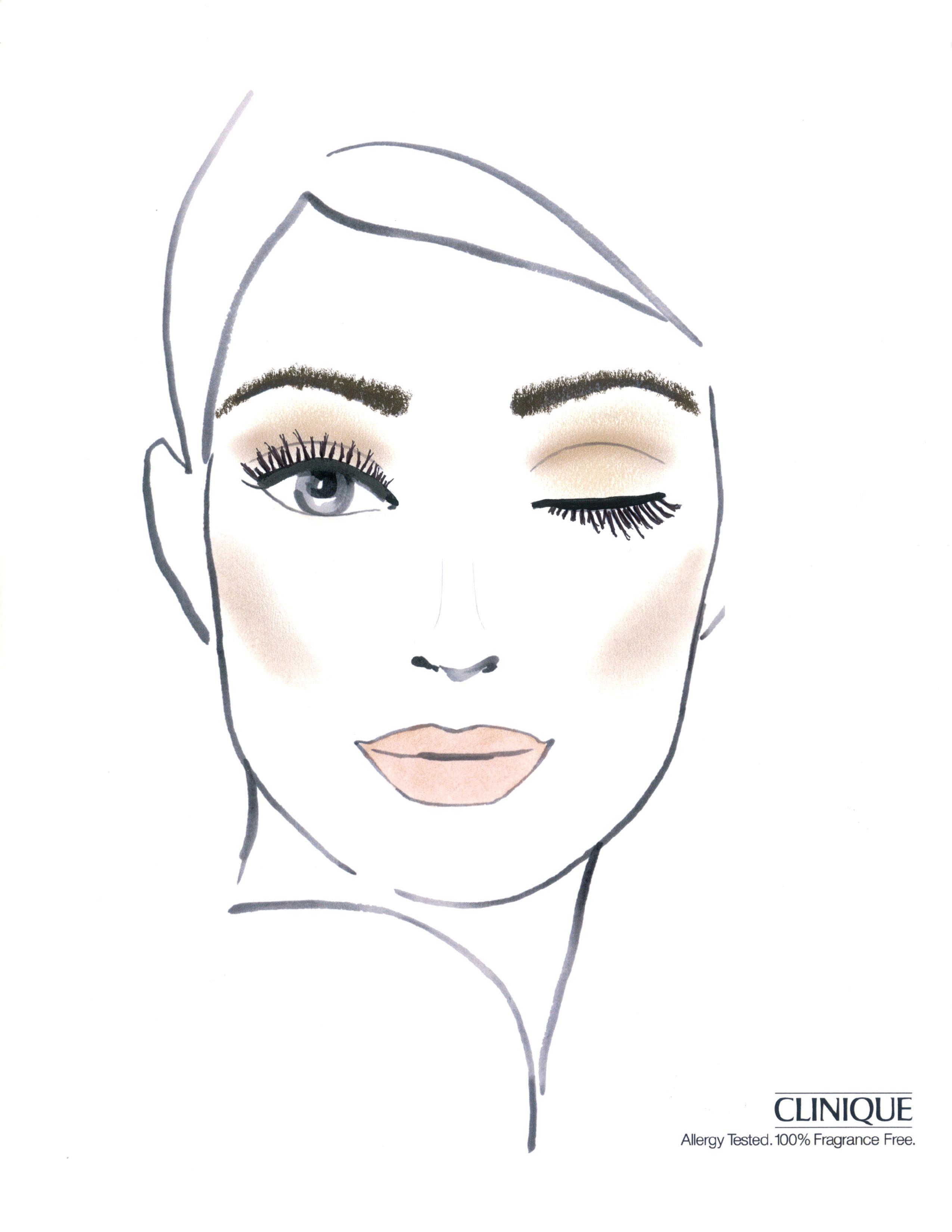 Clinique For Karen Walker Fw12 Face Chart