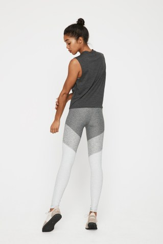 Outdoor Voices colorblock leggings