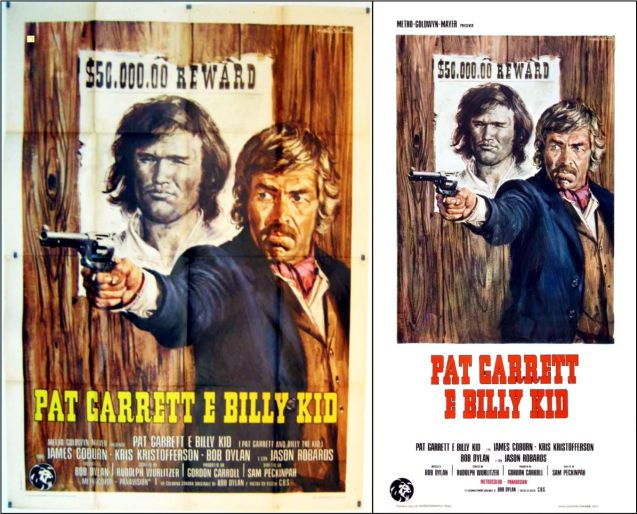 pat garrett and billy the kid posters 3