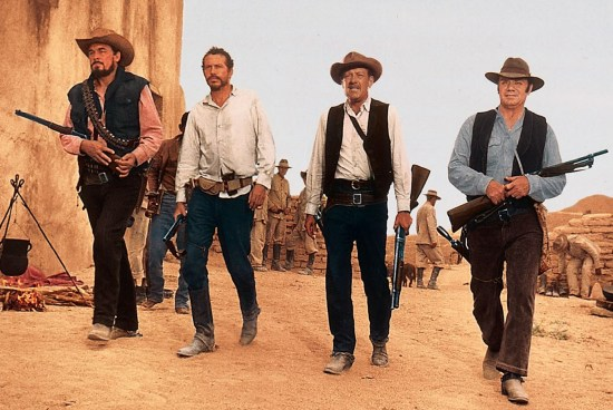 The Wild Bunch: Ben Johnson, Warren Oates, William Holden, Ernest Borgnine